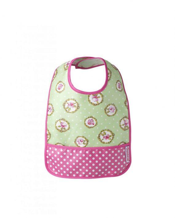 bambino_haklapp_pocket_bib_pink